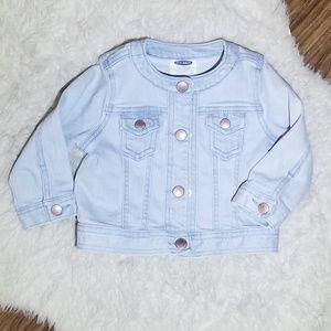 OLD NAVY Light Blue Jean Jacket
